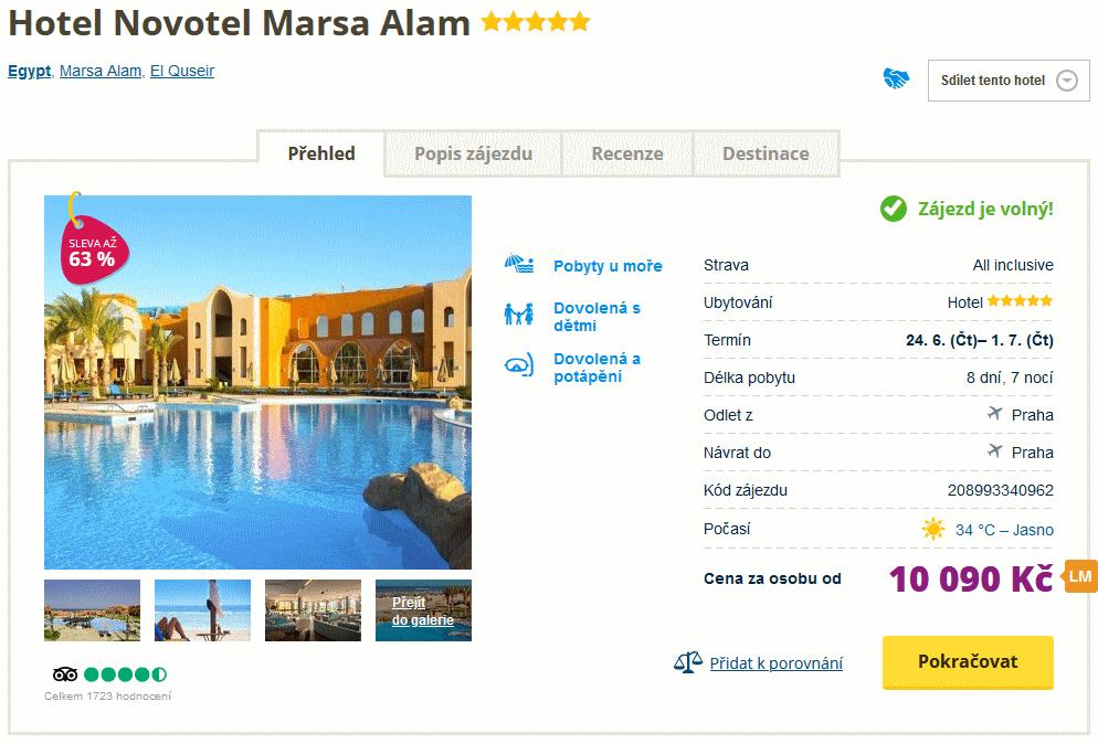 screen 20210612 0933 - Luxusní Egypt na týden do skvělého 5* hotelu s all inclusive za 10090 Kč