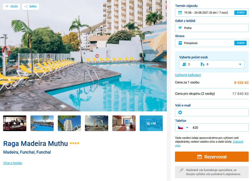 screen 20210703 2022 - HIT! Madeira s polopenzí za 8920 Kč letecky z Prahy na týden do 4* hotelu