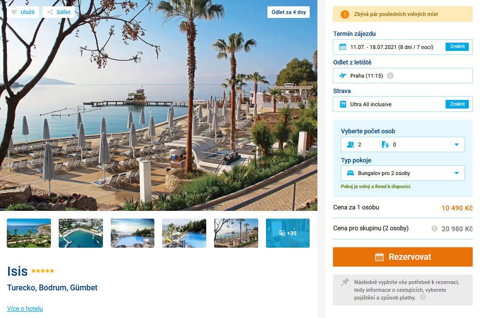 screen 20210707 1531 - Turecko do 5* hotelu na 8 dní s all inclusive za 10490 Kč - last minute letecky z Prahy