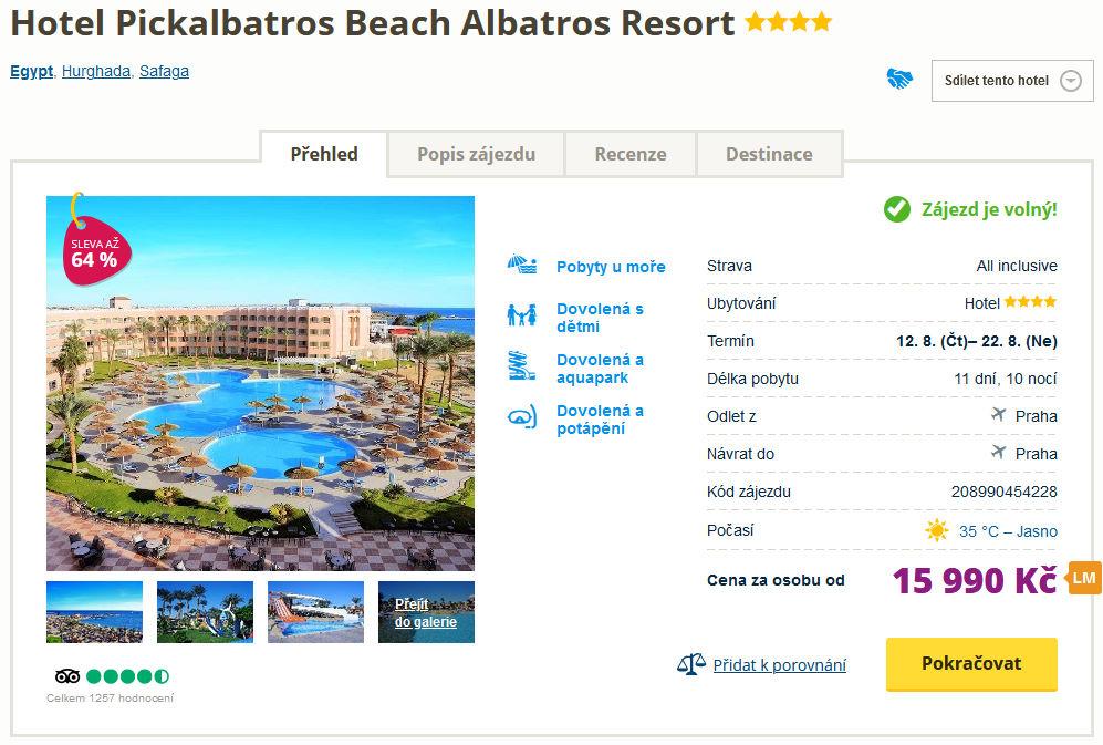 screen 20210801 1344 - Dovolená s aquaparkem v Egyptě na 11 dní - skvělý 4* hotel s all inclusive za 15990 Kč