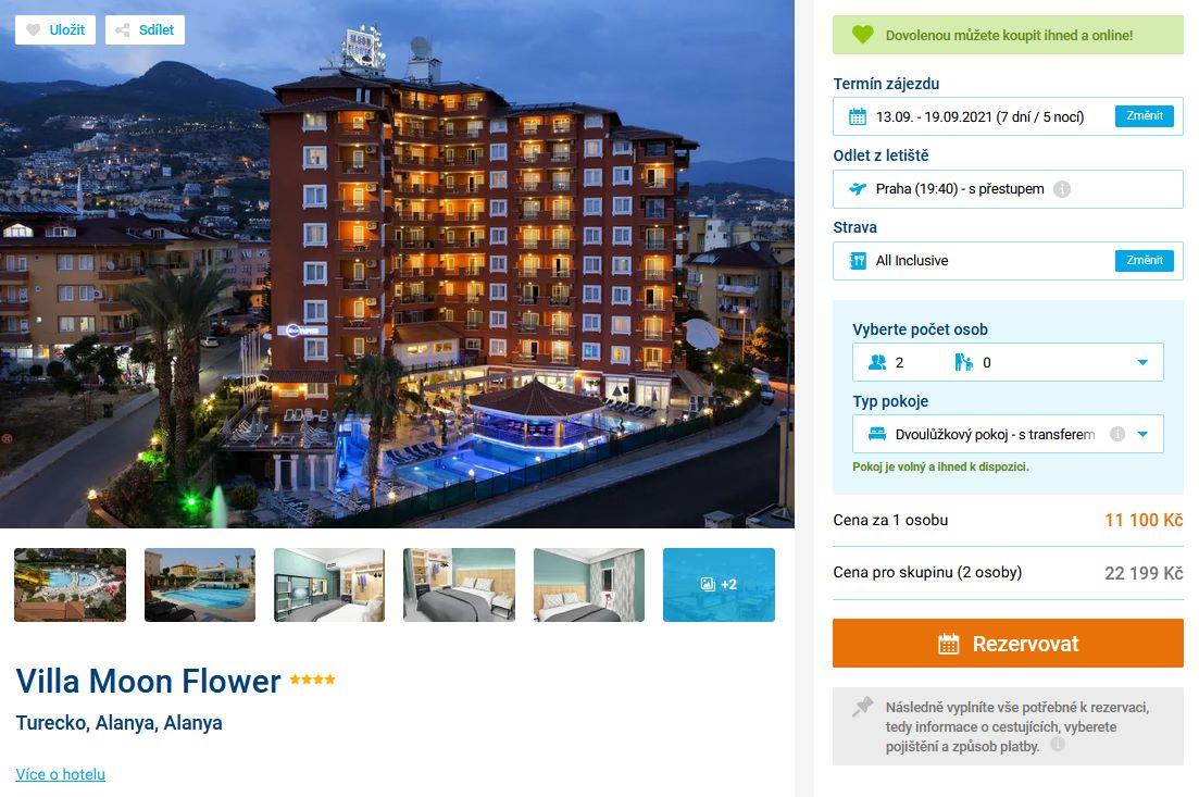 screen 20210819 0639 - Turecko, Alanya skvělý hotel 4* na 7 dní s all inclusive za 11100 Kč - last minute letecky z Prahy