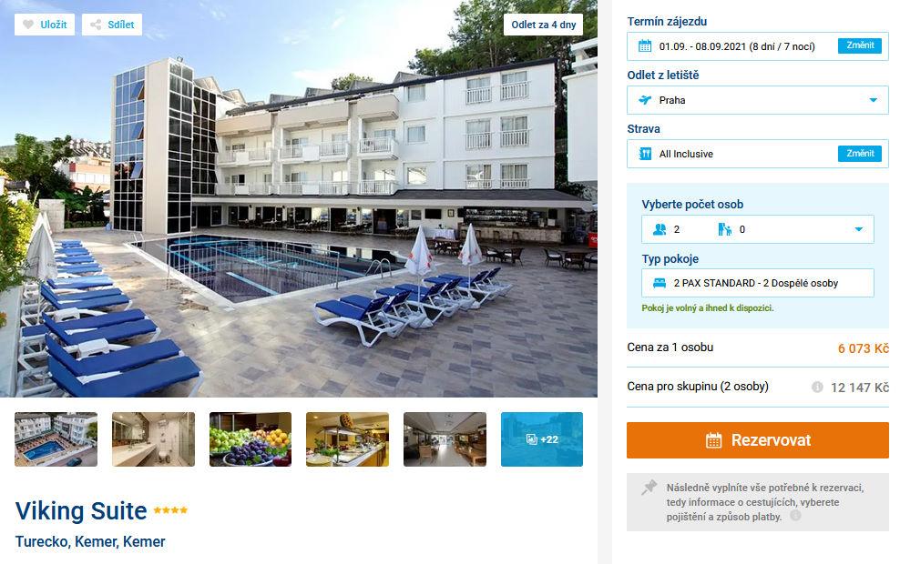 screen 20210828 1336 - All inclusive Turecko na 8 dní letecky z Prahy za 6073 Kč - skvělý 4* hotel